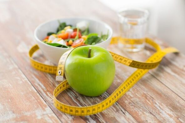 vegetables, fruits and water are essential for weight loss