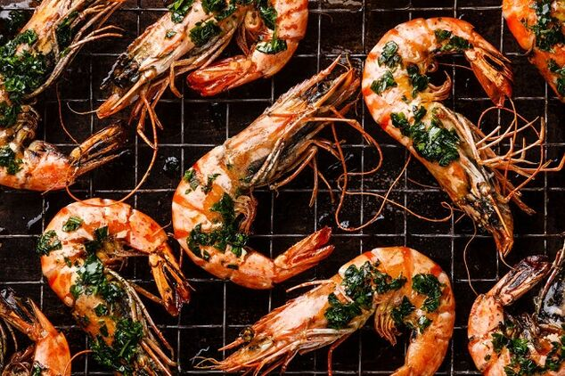 shrimp for the ketogenic diet